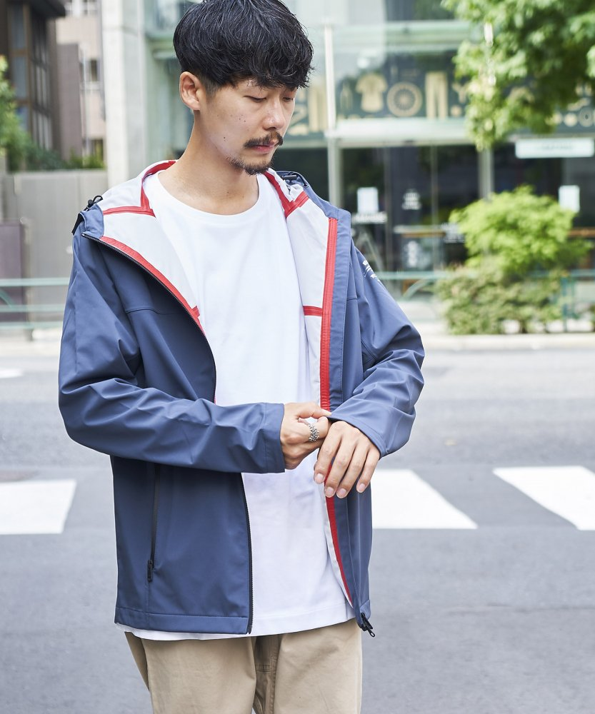 <img class='new_mark_img1' src='//img.shop-pro.jp/img/new/icons5.gif' style='border:none;display:inline;margin:0px;padding:0px;width:auto;' />【ECOALF】MENS  TUCSON マウンテンパーカー BLU