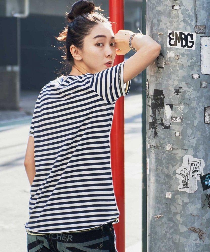 【ECOALF】WOMENS  STRIPES ボーダーTシャツ