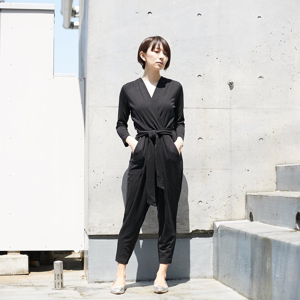 <img class='new_mark_img1' src='//img.shop-pro.jp/img/new/icons20.gif' style='border:none;display:inline;margin:0px;padding:0px;width:auto;' /><30%OFF>【COSSAC】jump suit BLK