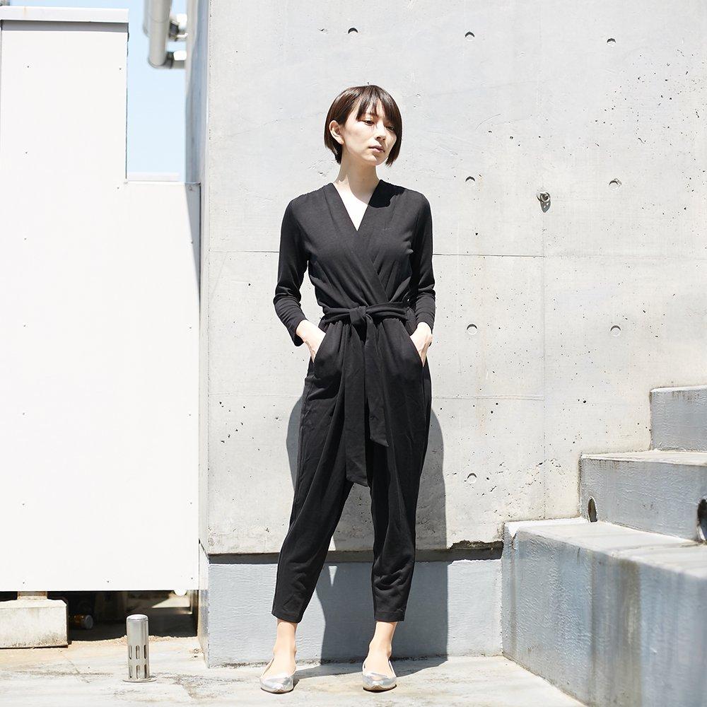 【COSSAC】jump suit BLK