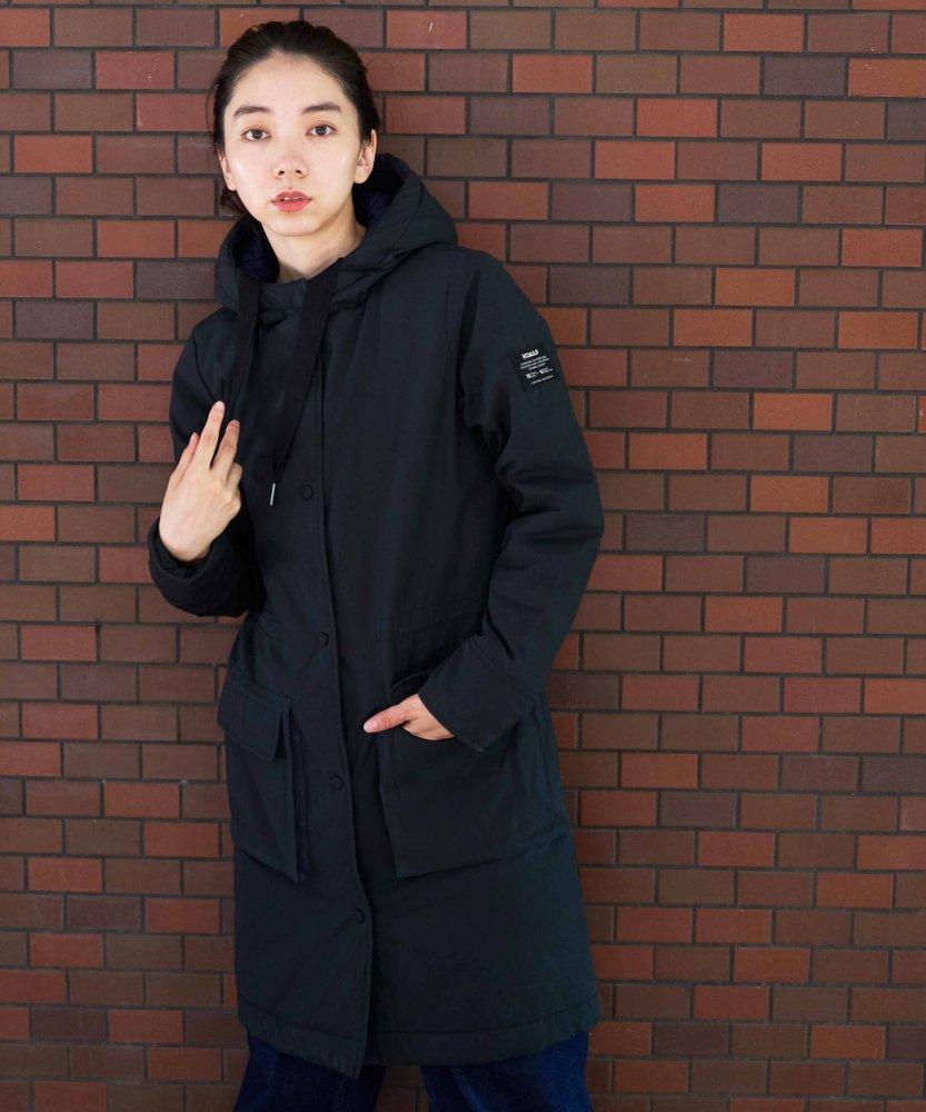 【ECOALF】WOMENS MOJAVE フードコート GRN
