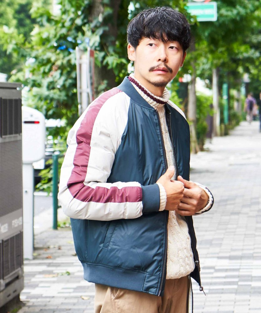 <img class='new_mark_img1' src='https://img.shop-pro.jp/img/new/icons15.gif' style='border:none;display:inline;margin:0px;padding:0px;width:auto;' />【ECOALF】GOUTER JACKET MAN (10月下旬お届け)