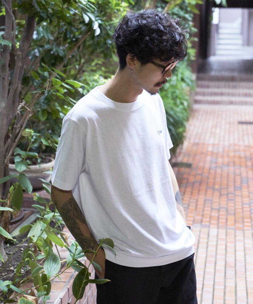 【REBIRTH PROJECT】RECOVER ロゴTシャツ WHT(2月上旬お届け)