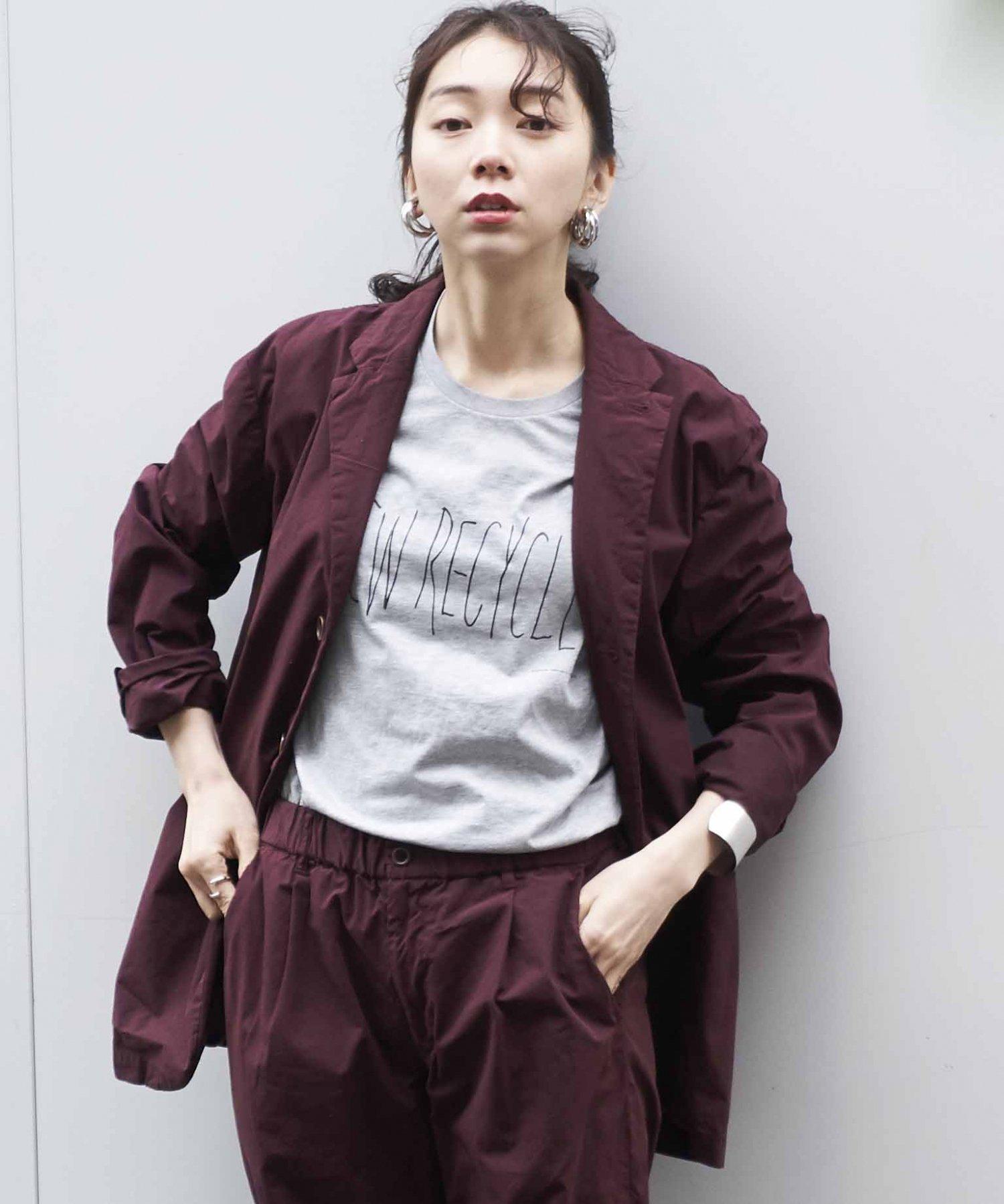 【REBIRTH PROJECT】オーガニックタイプライター ジャケット BGD(2月下旬お届け)