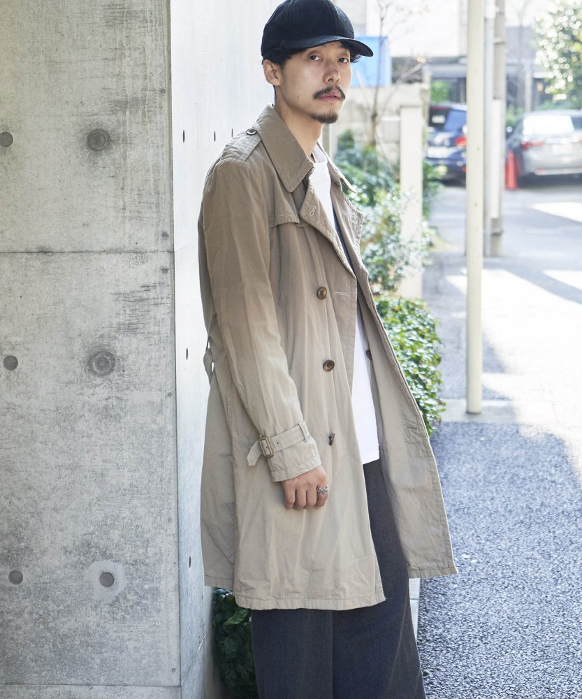 <img class='new_mark_img1' src='https://img.shop-pro.jp/img/new/icons20.gif' style='border:none;display:inline;margin:0px;padding:0px;width:auto;' /><30%OFF>【PIED PIPER REBIRTH PROJECT】グラデーショントレンチ