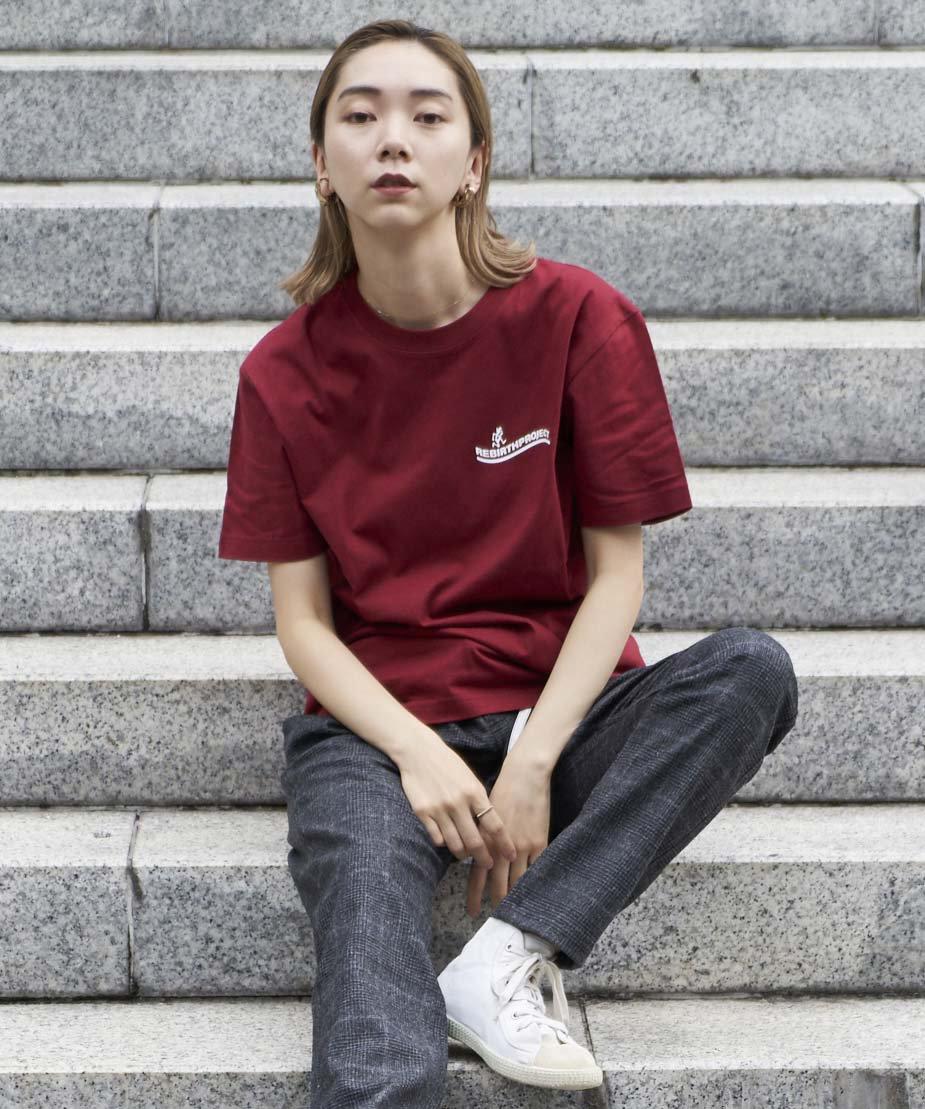 【REBIRTH PROJECT】Gramicci別注 W4B プリントTシャツ BGD