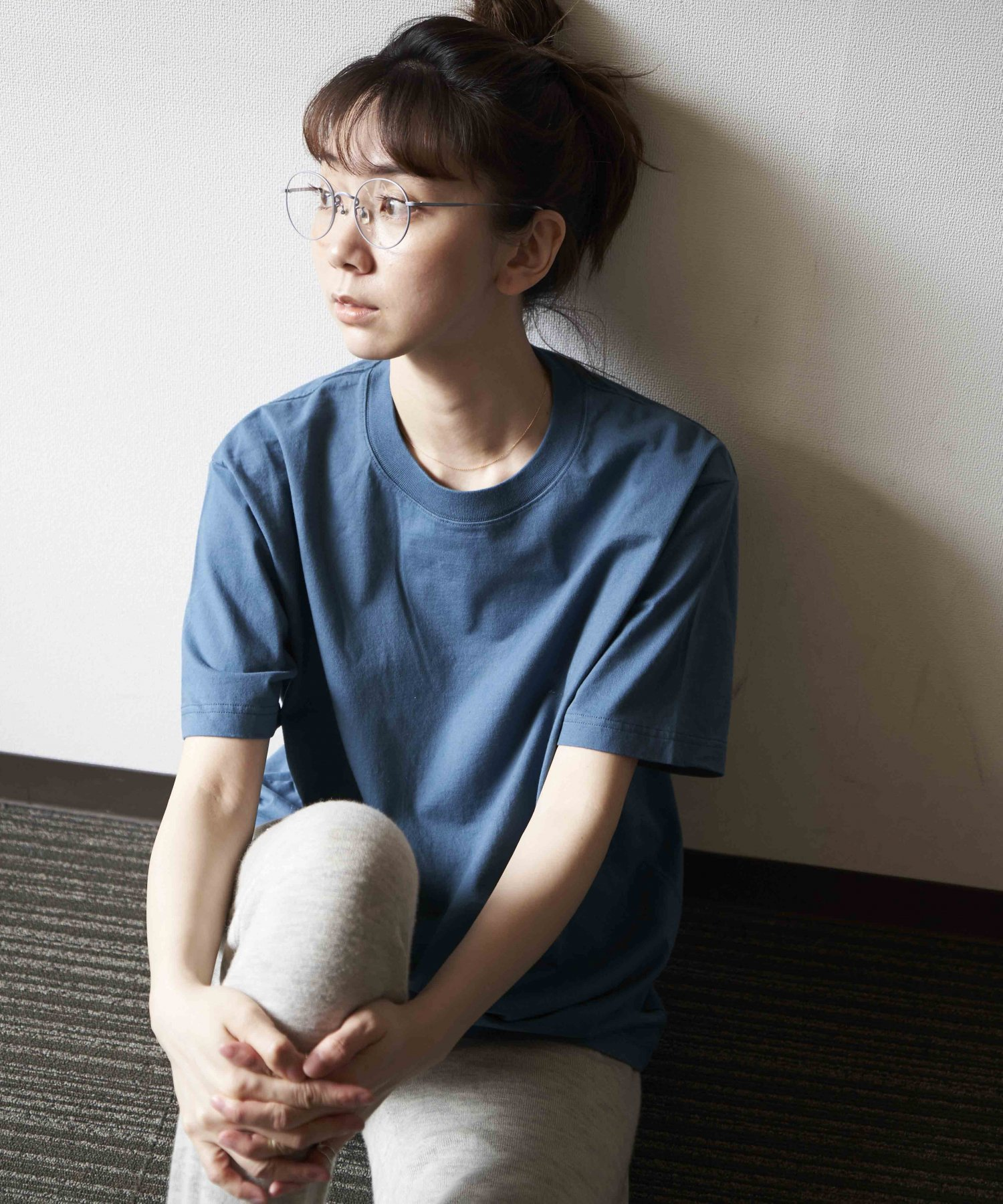<img class='new_mark_img1' src='https://img.shop-pro.jp/img/new/icons15.gif' style='border:none;display:inline;margin:0px;padding:0px;width:auto;' />【REBIRTH PROJECT】SOUL COTTON T-shirt  BLU