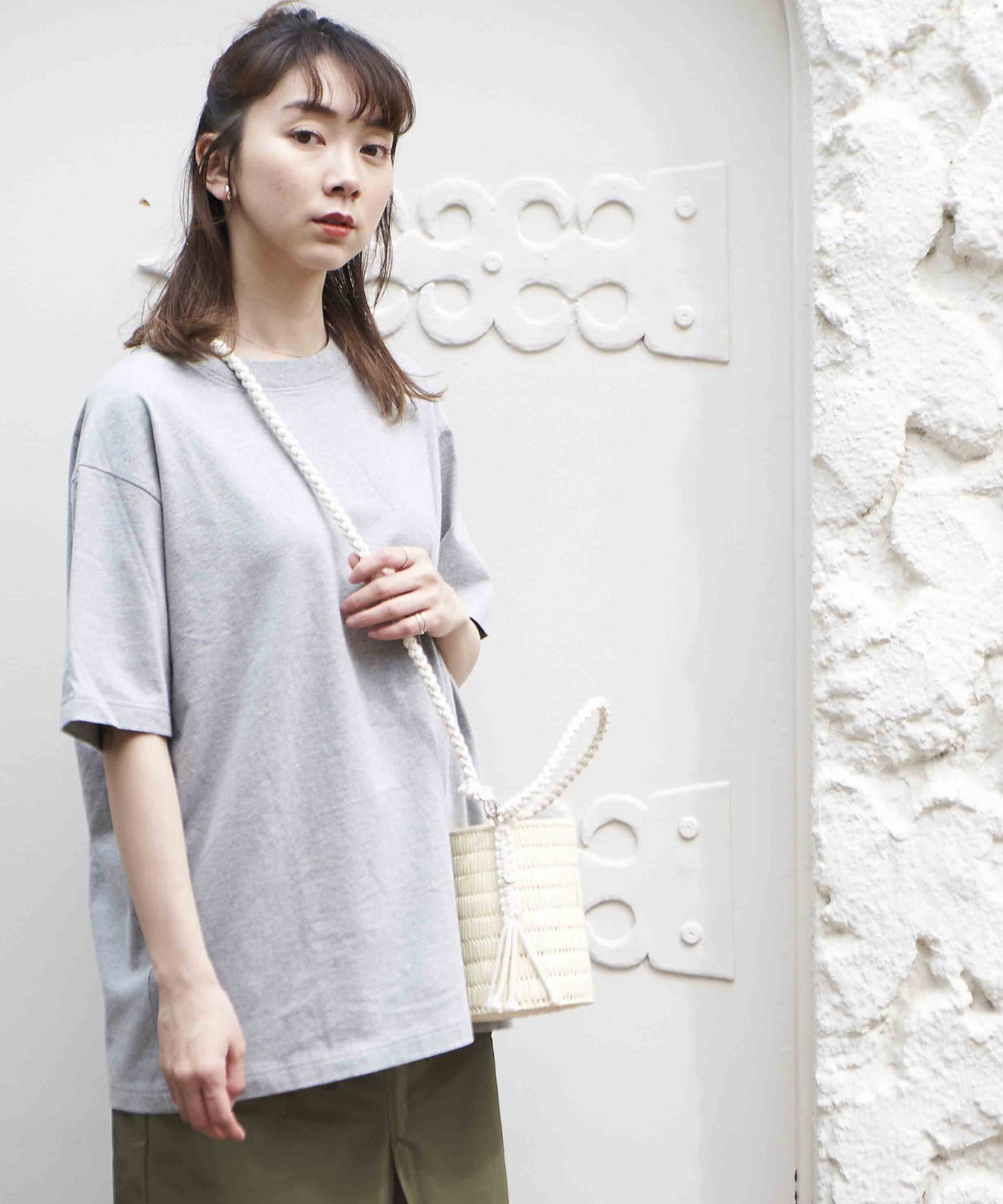 <img class='new_mark_img1' src='https://img.shop-pro.jp/img/new/icons15.gif' style='border:none;display:inline;margin:0px;padding:0px;width:auto;' />【REBIRTH PROJECT】SOUL COTTON T-shirt  GRY