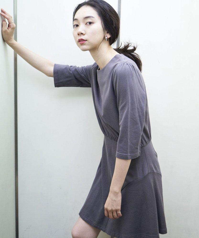 【REBIRTH PROJECT】OKIRAKU別注 オーガニックコットンワンピース