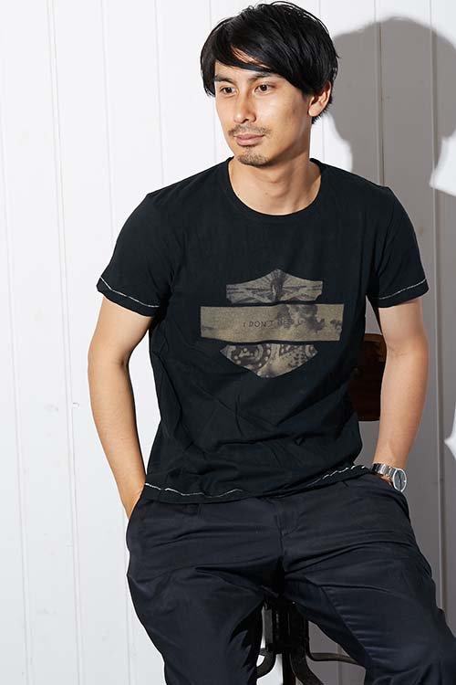 【PIED PIPER REBIRTH PROJECT】オーガニックコットンTシャツ I DON'T NEED U