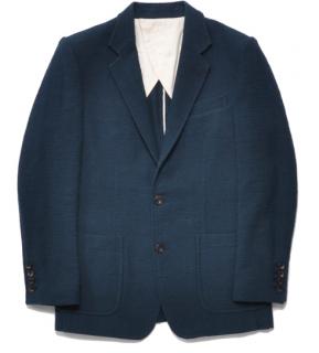 【PIED PIPER REBIRTH PROJECT】オーガニックコットン木玉毛織ジャケット