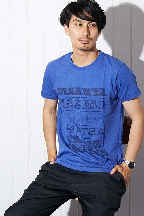 【PIED PIPER REBIRTH PROJECT】リサイクルコットン Tシャツ ETHERIC