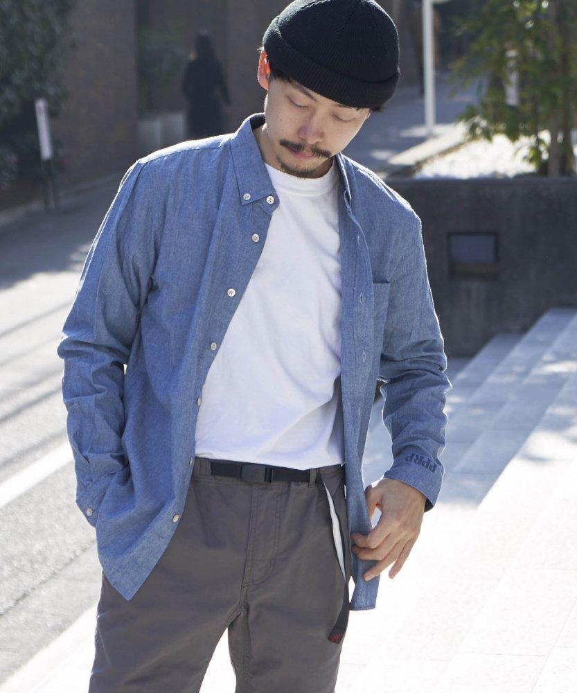【PIED PIPER REBIRTH PROJECT】ダンガリーボタンダウンシャツ