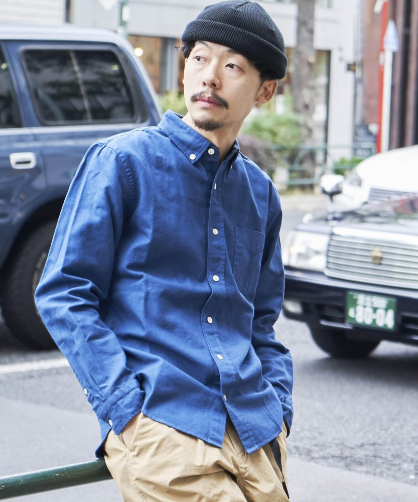 【PIED PIPER REBIRTH PROJECT】オックスフォードボタンダウンシャツ