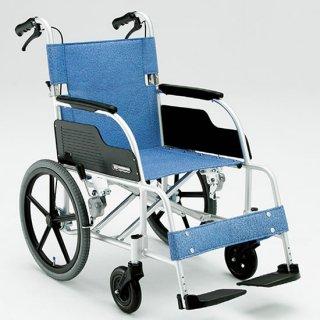 【松永製作所】ECO-301 アルミ製 介助式車椅子[介助ブレーキあり]