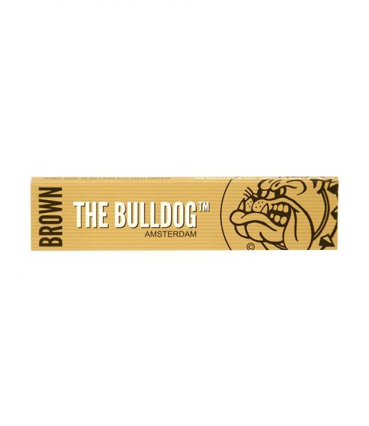 無漂白巻紙 Bulldog Paper K.S. Slim Brown Eco ブルドックペーパーキングサイズスリム