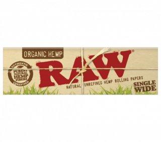 Raw organic single wide (ロウ オーガニック シングル 50枚入)