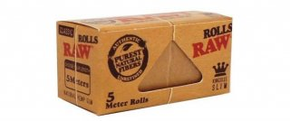 raw classic king size slim roll 5m