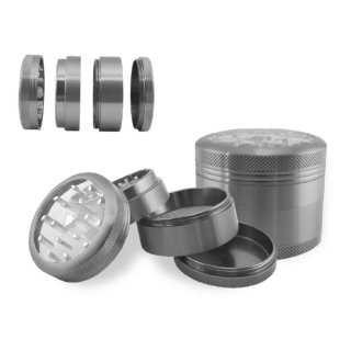 Hammer Craft Grinderハンマークラフトアルミニウムグラインダーclear top m size(グレー)