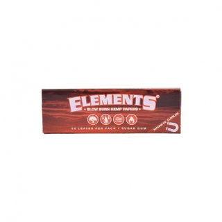 element 1 1/4  red  hemp paper