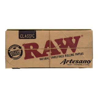 【RAW】Artesano Classic Papers KS Slim with Tips