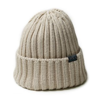 GO HEMP RIB WATCH CAP/NATURAL