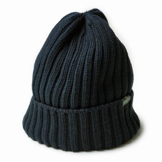 GO HEMP RIB WATCH CAP/BLACK