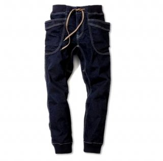 GOHEMP VRNDER RIB PANTS /one wash