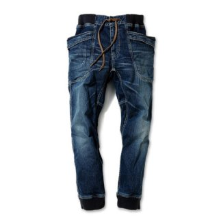 VENDOR RIB PANTS/ H/C STRECH DENIM