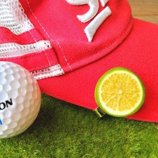 ゴルフマーカー ライム小