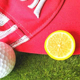 ゴルフマーカー レモン小