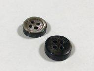 黒蝶貝ボタン 3mm厚 10mm