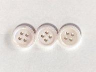 淡水真珠貝ボタン サクラ色 11.5mm