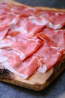 無添加 サンダニエーレ産プロシュット 24ヶ月熟成 80gスライスパック【冷蔵/冷凍】手切りオーダースライス/ San Daniele Cured Ham 24 Months
