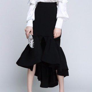 タイト&フレア フィッシュテールの美脚スカート