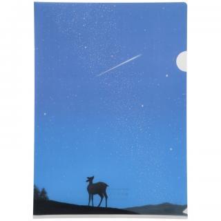 クリアファイル(A4) 星のふる夜に#12