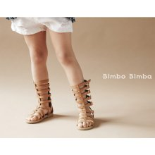 Gladiator boots sandals<br>Brown<br>『Bimbo Bimba』 2016SS