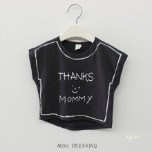 Thanks Mommy T<br>Charcoal<br>minidressing<br>2016SS