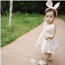 Bunnys Cotton Baby Dress<br>バニーコットンベビードレス<br>【3~48month±3m】<br>『ArimCloset』 <br>16SS