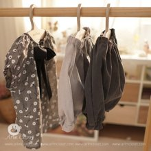 Cotton Baby Gray Bloomer<br>コットンベビーグレイブルマ<br>【3~36month±3m】<br>『ArimCloset』 <br>16SS