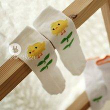A Cute Chick Knee Socks<br>ひよこさんニーソックス<br>【12~36month±3m】<br>『ArimCloset』 <br>16SS