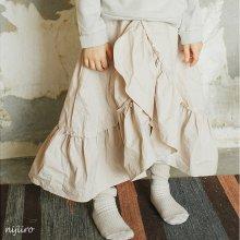 Raffle cancan skirt<br>Ivory<br>『piccola su』 <br>16FW<br>定価<s>3,400円</s><b>20%Off</b>