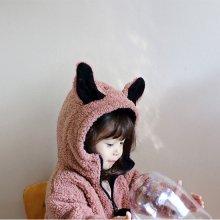 ラビットフルジップアップ<br>Rabbit ful zipup<br>Pink/Mocha<br>『ae-hem』 <br> (エヘン)<br>16AW