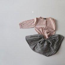 スプリングカーディガン<br>Spring Cardigan<br>Pink/Gray<br>『guno』<br>17SS<br>定価<s>3,900円</s>