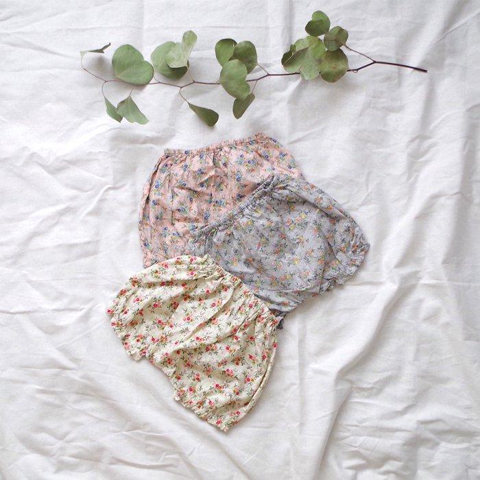 リバティブルマLiberty BloomerGray/Pink/Mint『Claudine』17SS