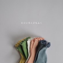 春色くるくるソックス/Spring Color Socks<br>Set of 5<br>『Team』 <br>17SS