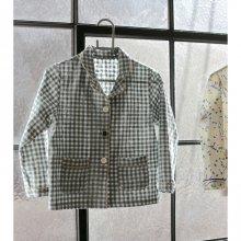 ローブブラウス/Robe blouse<br>Mint<br>『piccola』<br>17SS<br>定価<s>3,400円</s>