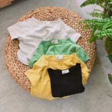 rico-T<br>ivory/yellow/green/black<br>『ojo de papa』<br>17SS<br>定価<s>1,700円</s>&nbsp;<b>20%Off</b>