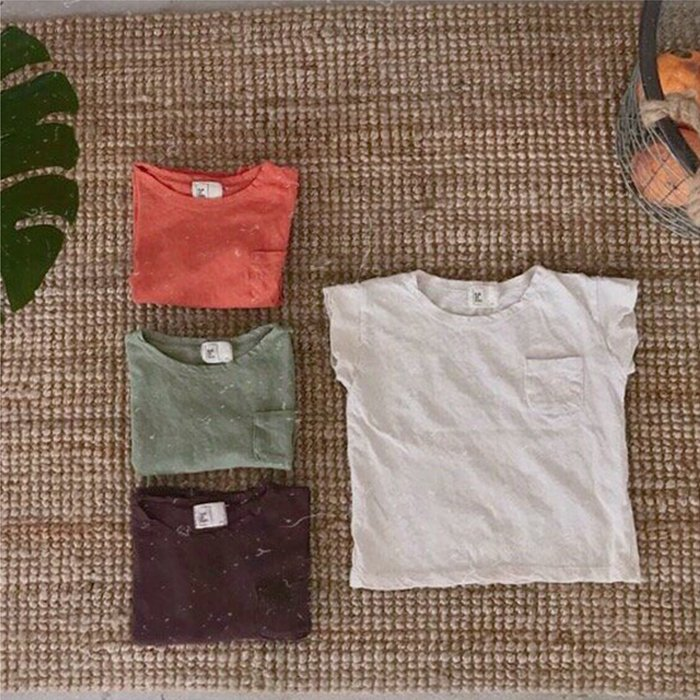 nature-TOatmeal/orange/khaki/purple『ojo de papa』17SS
