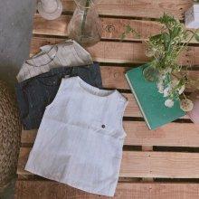 Du Pont shirts<br>navy/beige/ivory<br>『ojo de papa』<br>17SS